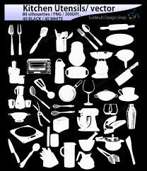 witch silhouette png kitchen utensils silhouette svg kitch design bundles