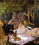 The Lunch on the Grass - Manet, Edouard - Gallery - Web gallery of art - Downloadable