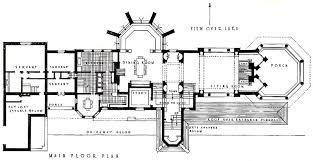 Servant Quarters Floor Plans Frank Lloyd Wright