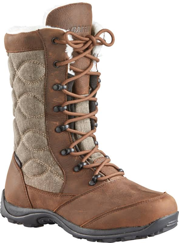 Baffin Cortina Winter Boot Brown 10 US URBAW024-BBJ-10