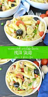 Pasta Salad Ingredients Marinated Artichoke Hearts Pasta Salad Veggies Save The Day