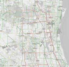 Chicago Suburbs Map Traffic Patterns In Chicago