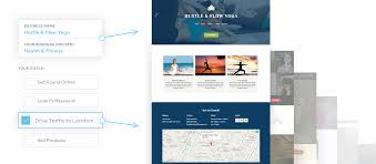 website builder make your own business website vistaprint