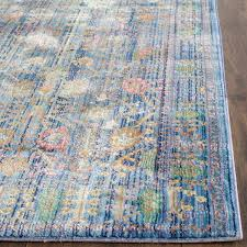 Multicolor Rug Brilliant Blue Antique Styled Area Rug Val108m Safavieh
