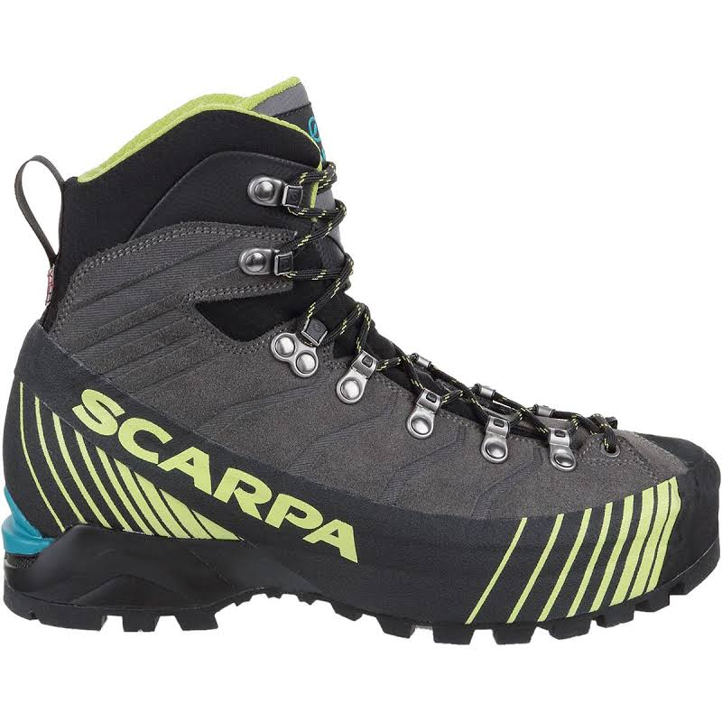 Scarpa Ribelle HD Mountaineering Boots Titanium/Lime Medium 42 71085/250.4-TitLim-42