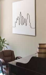 diy cable mural wire wall art project arrow fastener hang it on the wall and enjoy