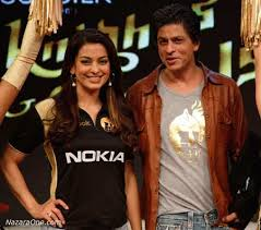 SRK and Juhi.