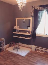 Vanity Bedroom Makeup Decor Penteadeiras Improvisadas Daughters Room Fall Flats And