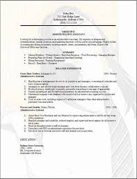 Sample Teacher Assistant Resume by The Administrative Assistant Job Duties For Resume Resume