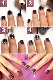 top 25 best galaxy nails tutorial ideas on pinterest galaxy