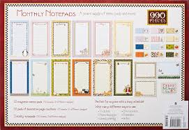 monthly notepads publications international 9781450800228