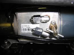 xk8 convertible top manual latch conversion
