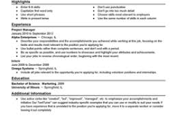 Example Resume  Resume Templates For Entry Level Jobs  good resume     soymujer co