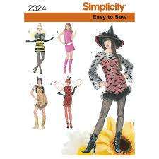 pattern witch costume pattern for misses u0027 easy to sew costumes simplicity