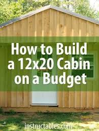 How To Build A Cottage House by Best 25 Building A Small Cabin Ideas On Pinterest Diy Cabin