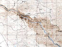 Map Of Utah And Colorado by Examples Of Topographic Maps