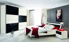 Black And Red Room Decor Ideas Black And White With Color Accents - Black bedroom designs