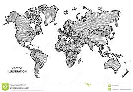 Diagram Of The World Map by Diagram Of World Map Image Drawing At Roundtripticket Me