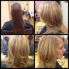 medium length haircuts with layers and side bangs medium length