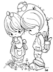 Precious Moments Coloring Pages #26464 | Best Coloring Pages ...