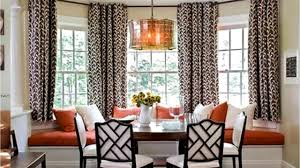 bay window curtain rod ideas youtube