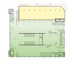 what are some typical standards for parking garage functional for example philadelphia circulation map ground floor