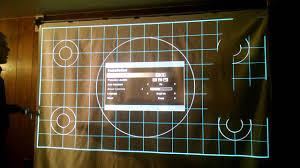 diy retractable projector screen youtube