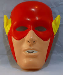 Flash Halloween Costumes Vintage Flash Halloween Mask Dc Comics Rubies Costume