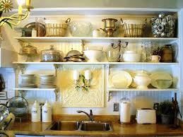 open shelving kitchen ideas home decor gallery