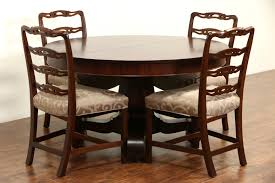 Antique Dining Room Tables by Sold Empire Mahogany 1910 Antique 54