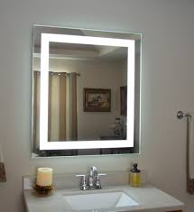 amazon com wall mounted lighted vanity mirror led mam83632
