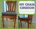 Reviving Homemaking: DIY Chair Cushion