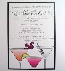 cocktail birthday party invitations vertabox com