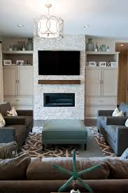 Room  Custom Wall Units For Family Room Interior Decorating Ideas - Family room wall units