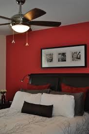 accent wall using benjamin moore watermelon red paint colour