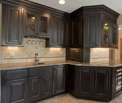 Antiqued Kitchen Cabinets Distressed Kitchen Cabinets Pictures Home Planning Ideas 2017