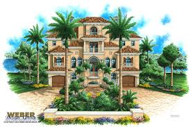 Massive House Plans by Massive Mediterranean House Plan Great For A Narrow Lot With