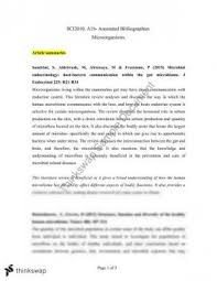 How to Prepare an Annotated Bibliography Lynn Lampert
