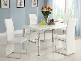 Dining Room Tables On Sale by Amazon Com Homelegance Clarice Chrome Dining Table Table