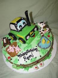 Chocolate Accents by John Deere Tractor Cake Cakecentral Com
