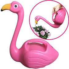 amazon com flamingo watering can decorative elegant pot for