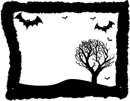 halloween border landscapes in png u2013 fun for halloween