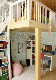 Kids Bed Design  Kids Loft Bed With Desk Underneath Play Area - Kids bunk bed with desk
