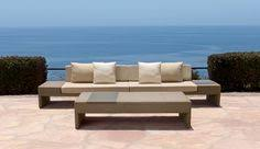 Brown Jordan Fire Pit by Equinox Shown With Elements Collection By Brown Jordan We Started