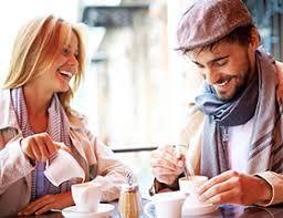 Want to meet great single men  Start here   EliteSingles EliteSingles Happy couple on a first date