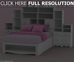 full size black storage bed with bookcase headboard storage