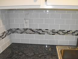 14 best simple backsplash with accent strips images on pinterest astounding glass subway tile backsplash picture and kitchen decoration inspiration with glass mosaic tile kitchen backsplash ideas and modern white cabinet