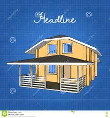 Gambrel Roof Shingle Style Gambrel Roof House Stock Photo Image 58988370