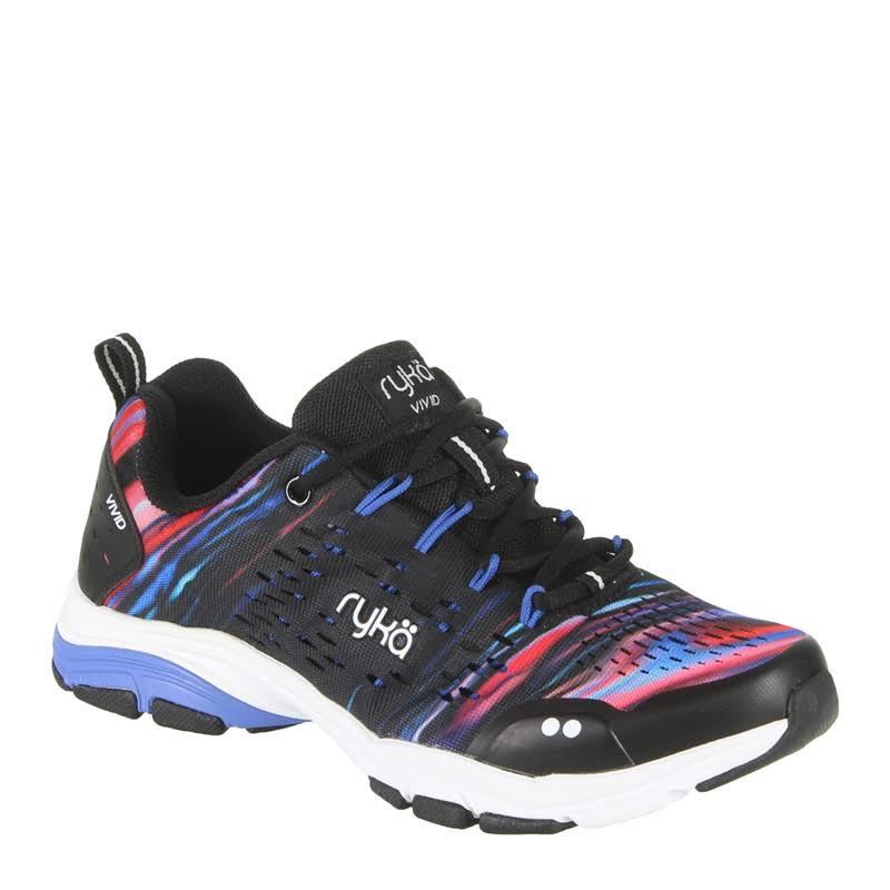 Ryka Vivid Rzx Cross Training Sneakers Black, 10