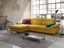 best contemporary yellow microfiber sectional sleeper sofa with